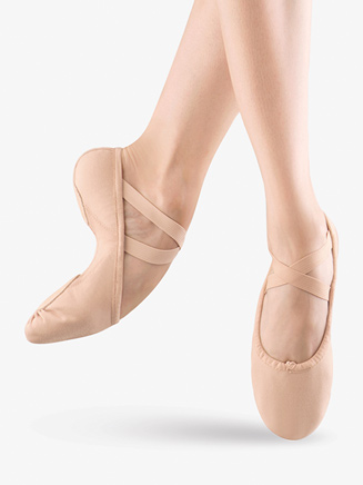 """Proflex"" Adult Split-Sole Canvas Ballet Slipper - Style No S0210L"