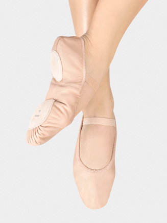 """Dansoft"" Adult Split-Sole Leather Ballet Slipper - Style No S0258L"