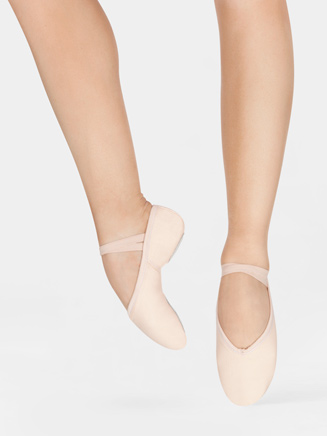 Adult Andante Split Sole Ballet Shoe - Style No SA