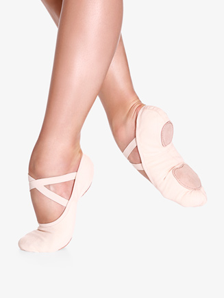 "Womens ""Bliss"" Split-Sole Canvas Ballet Shoes - Style No SD16"