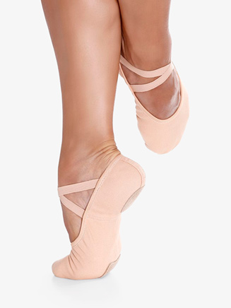 "Womens ""Bali"" Split-Sole Canvas Ballet Shoes - Style No SD18"