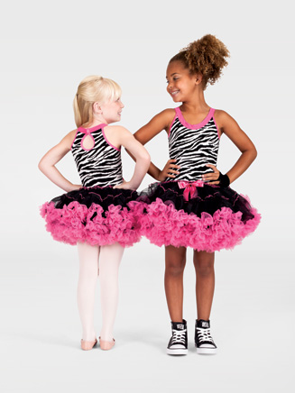 Child Zebra Print Tank Costume Dress - Style No SK663