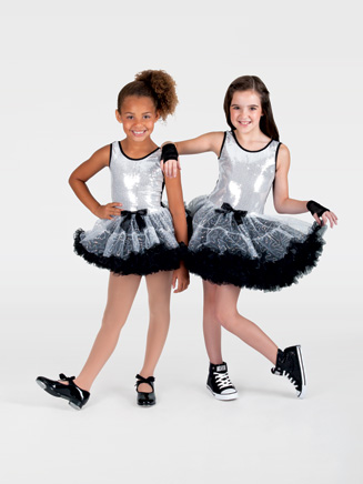 Child Sequin Tank Costume Dress - Style No SK725