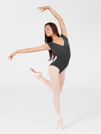 Adult Mock-Wrap Dance Leotard - Style No SPX8102