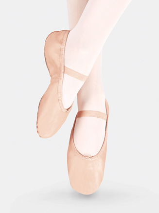 Economy Adult Full Sole Ballet Slipper - Style No T1000