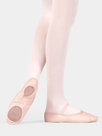 Adult Split-Sole Canvas Ballet Slipper - Style No T2900