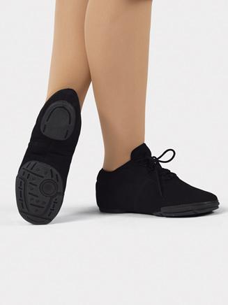 """Girls """"Sleekster"""" Canvas Split-Sole Dance Sneaker - Style No T8400Cx"""