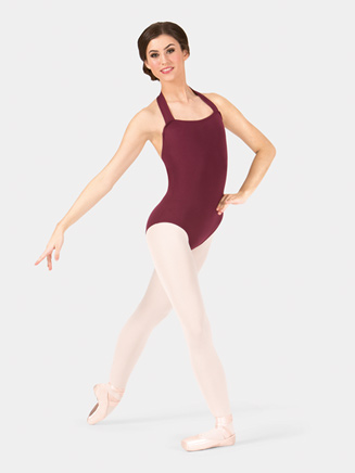 Adult Pull Over Halter Leotard - Style No TB150