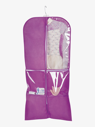Breathable Performance Garment Bag with Zippered Compartments - Style No TH108