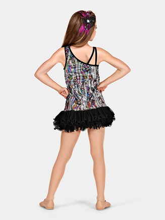 """""""All Eyes on Me"""" Girls Sequin Dress - Style No TH5072Cx"""