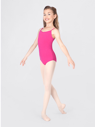 Child Camisole Twist Back Leotard - Style No TH5509C