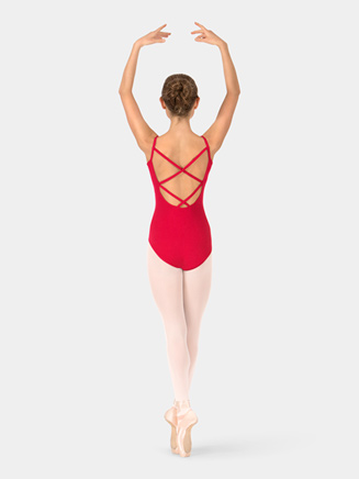 Adult Camisole X-Back Leotard - Style No TH5525