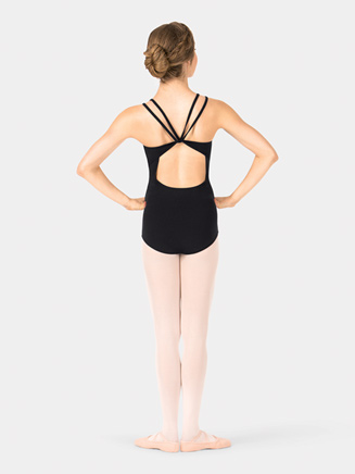 Adult Double V-Strap Camisole Leotard - Style No TH5526