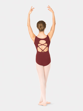 Adult Crisscross Back Tank Leotard - Style No TH5528