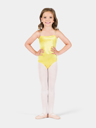 Satin Basic Child Camisole Leotard - Style No TH7500C