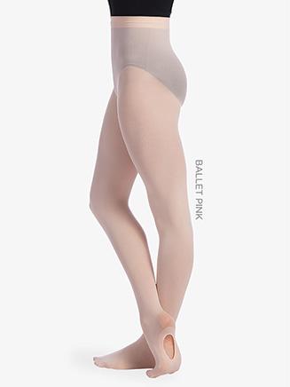 Girls Seamless Convertible Dance Tights - Style No TS81