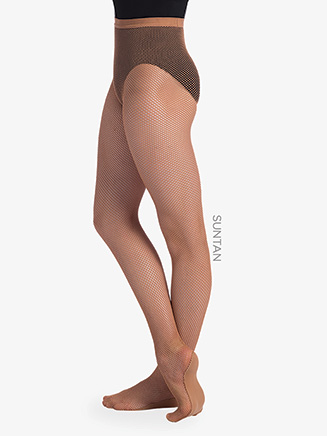 Womens Professional Sheer Fishnet Dance Tights - Style No TS98