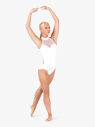 Womens Performance Twinkle Sequin Mesh Sweetheart Leotard - Style No TW620