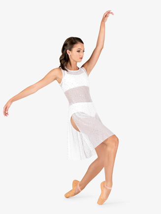 Womens Performance Twinkle Mesh Sheer Tank Overdress - Style No TW625x