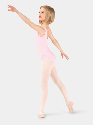 Girls Pinch Front Tank Leotard - Style No U6111CP