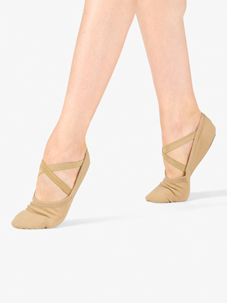 Womens Canvas Ballet Shoes - Style No VLD