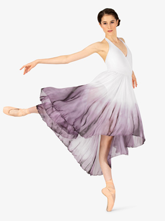 Adult Hi-Low Halter Dress - Style No WC202