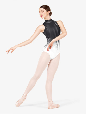 Adult Mock Turtleneck Tank Leotard - Style No WC222