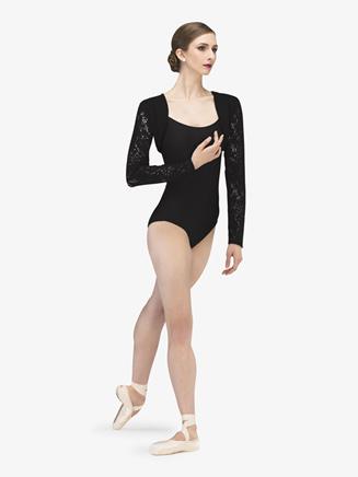 "Womens ""Radiance"" Knit Lace Warm Up Shrug - Style No WM210x"