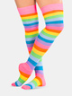 Adult Rainbow Thigh High Sock - Style No 6600