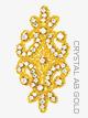 Crystal Rhinestoned Applique - Style No AP604A