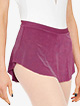 Womens Asymmetrical Hem Pull-On Ballet Skirt - Style No BP13201