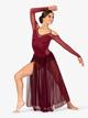 Womens Performance Mesh Shoulder Cutout Long Sleeve Dress - Style No N7700