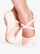 "Girls ""Brit"" Leather Ballet Shoes - Style No SD60S"