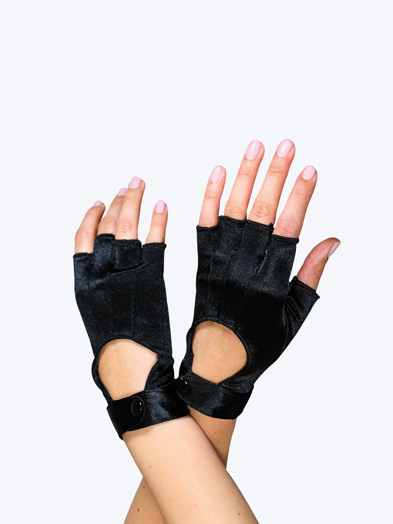 Free Shipping Fingerless Motorcycle Gloves By Double
