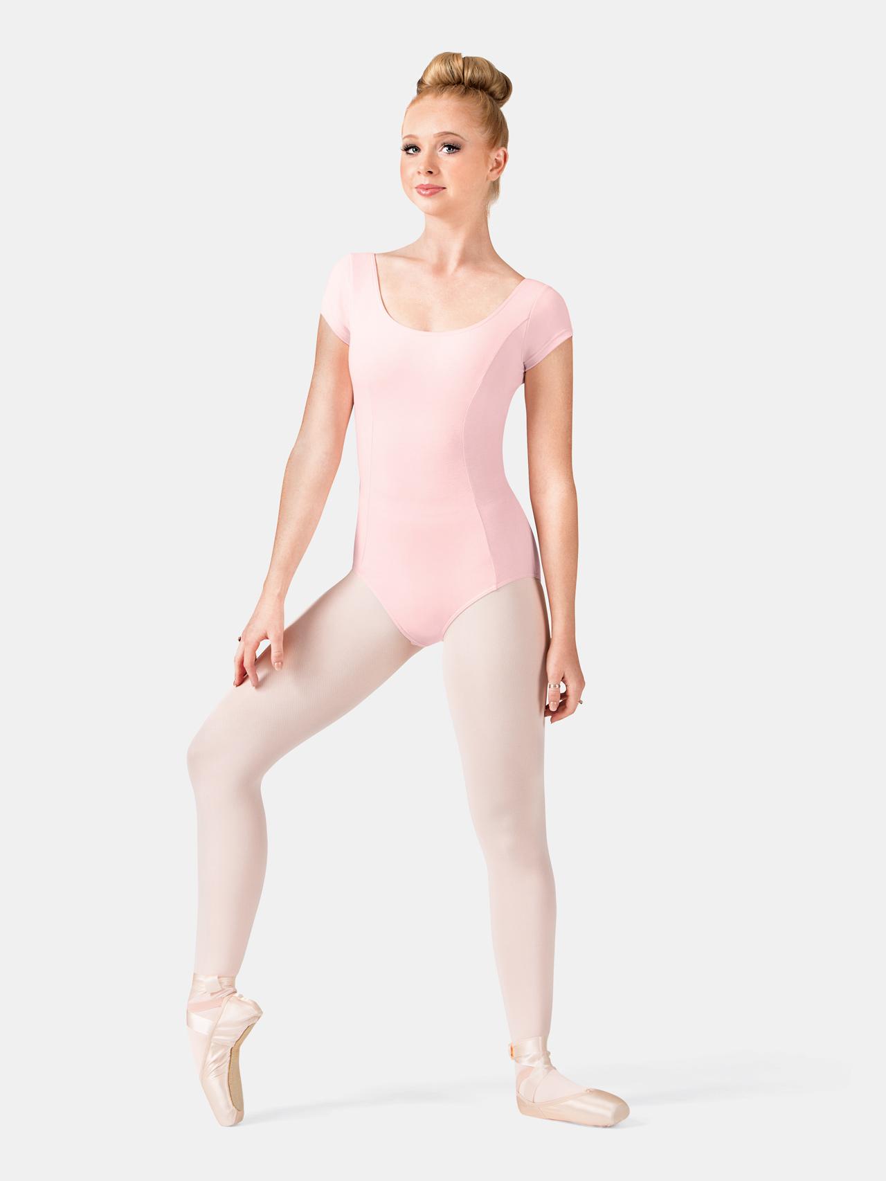 63f728013 Free Shipping - Adult Princess Seam Cotton Cap Sleeve Leotard by MIRELLA