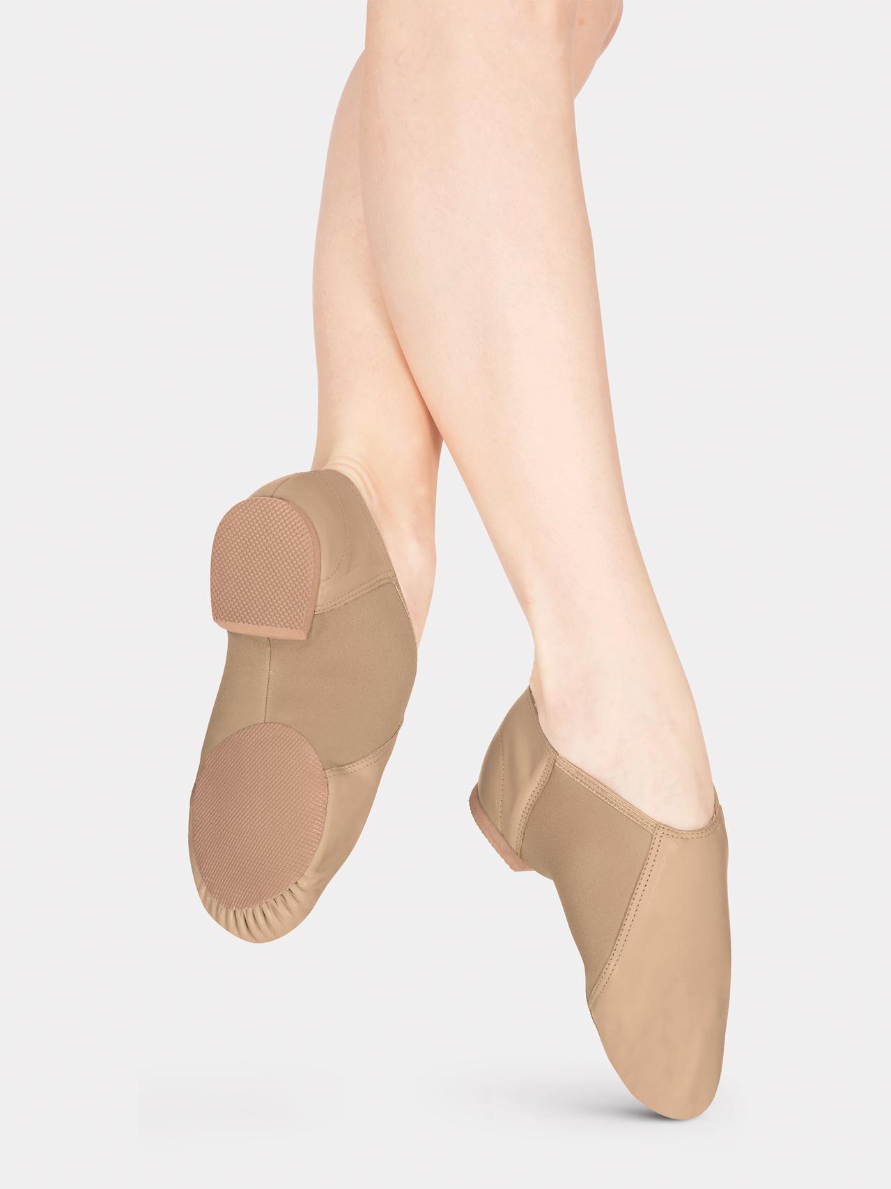 Adult slip on jazz boot