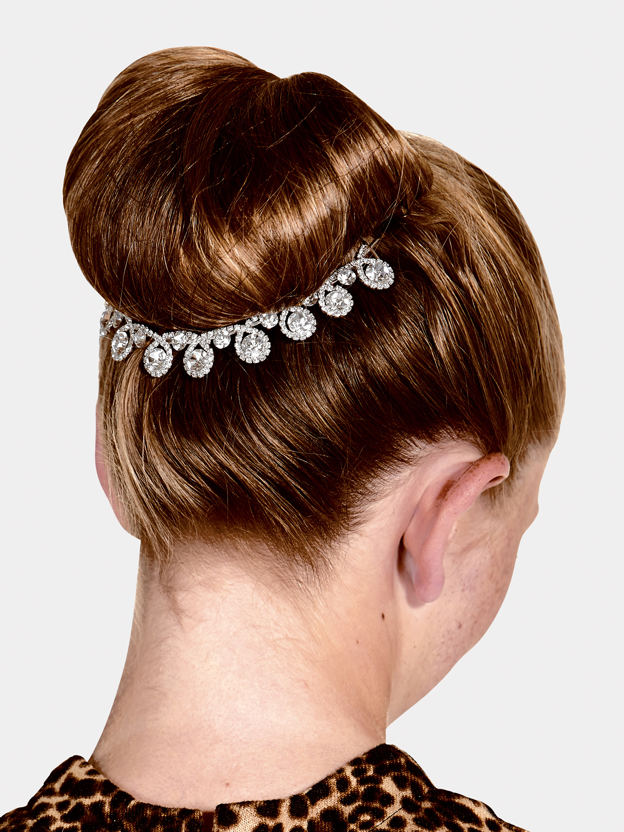 Hairstyles For A Lyrical Dance : Free shipping rhinestone hair comb by go girl